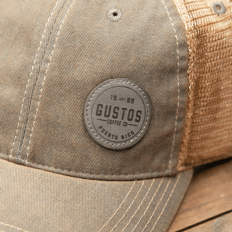 01b Gustos Old Fav Trucker Grey-min