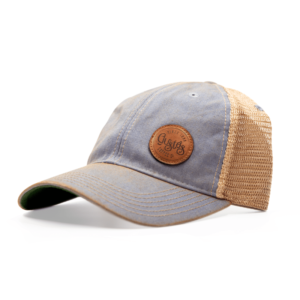 OLD FAVORITE TRUCKER CAP -LIGHT BLUE