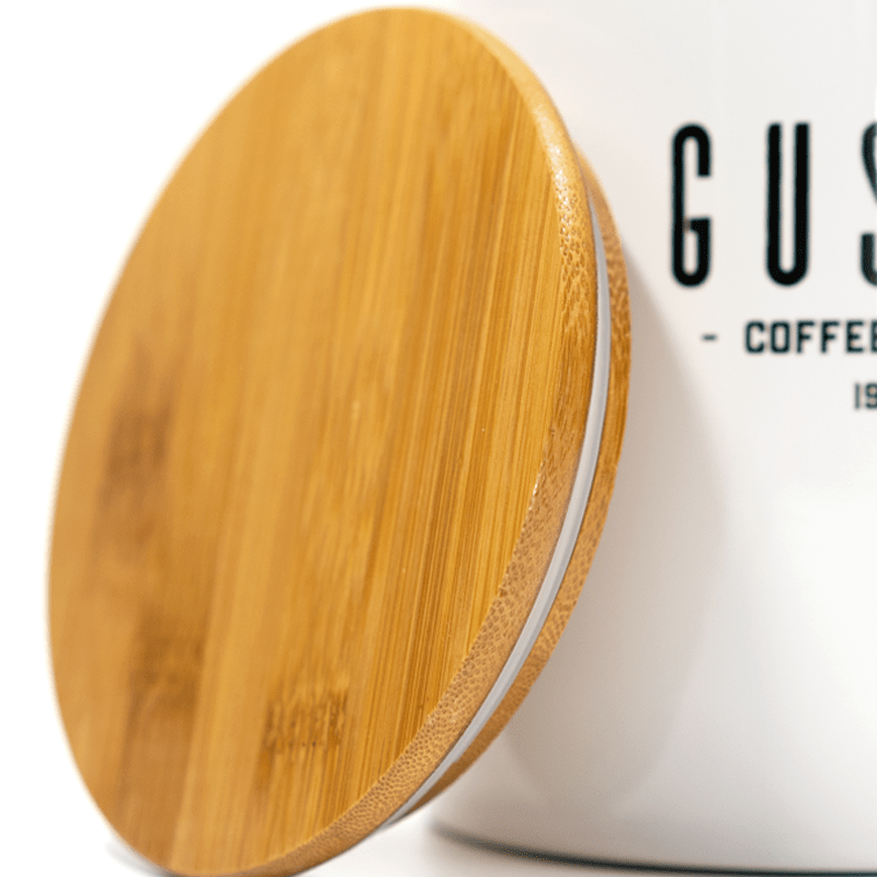 Airscape Coffee Canister Bamboo Lid Detail