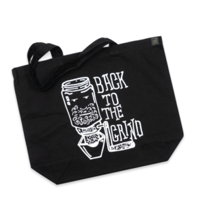 COTTON TOTE – BACK TO THE GRIND