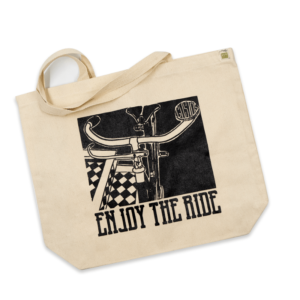CANVAS TOTE – ENJOY THE RIDE
