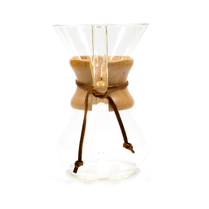 Chemex Glass Front View