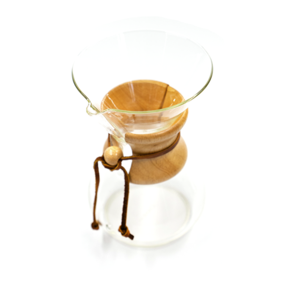 Chemex Glass Top View