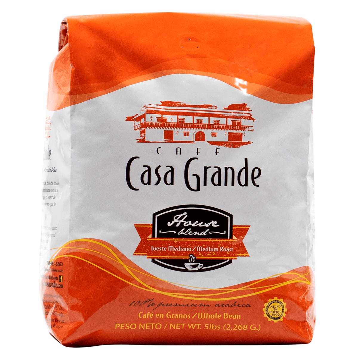 Casa Grande House Blend 5 lbs