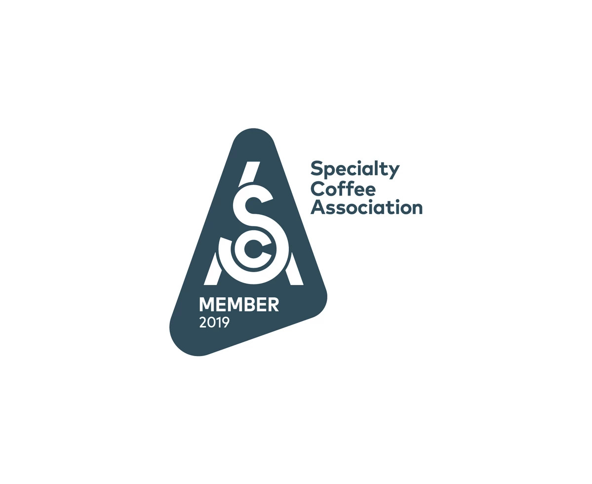 Specialty Coffee Association Member Badge Gustos Café