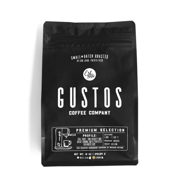Gustos Premium Selection 12 oz Ground Coffee Puerto Rico