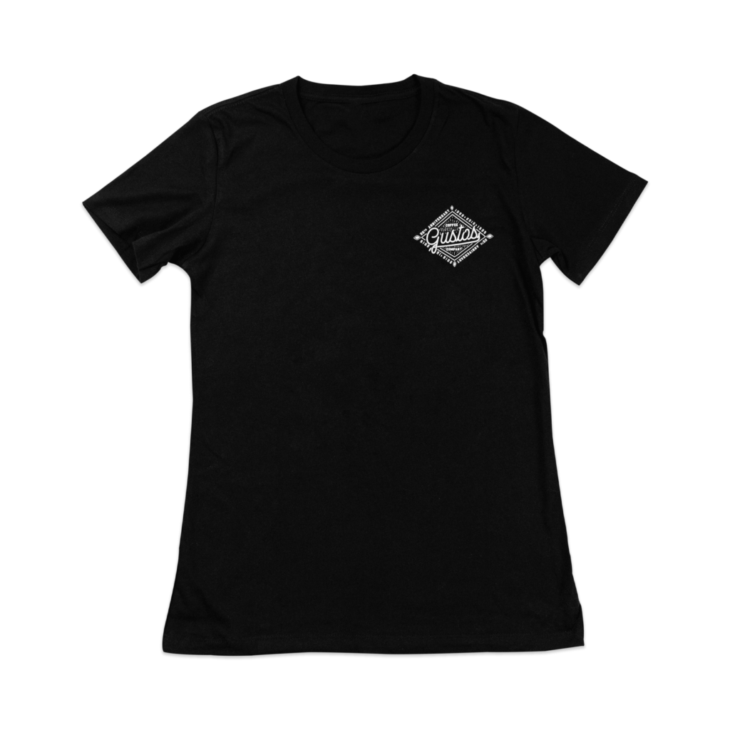 20 Years of Gustos Graphic (Front) Tee - Women