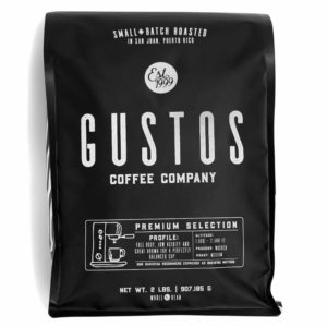 GUSTOS PREMIUM SELECTION 2 LB WHOLE BEAN