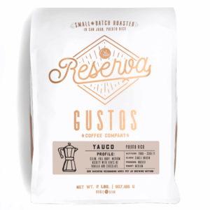 GUSTOS RESERVA – YAUCO PUERTO RICO 2 LB