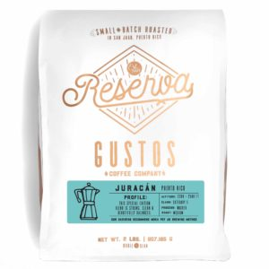 GUSTOS RESERVA – JURACÁN 2 LB WHOLE BEAN