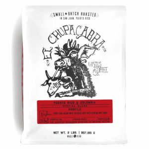 EL CHUPACABRA – PUERTO RICO X COLOMBIA 2LB WHOLE BEAN