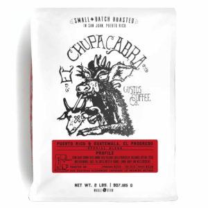 EL CHUPACABRA – PUERTO RICO X GUATEMALA, EL PROGRESO 2LB WHOLE BEAN