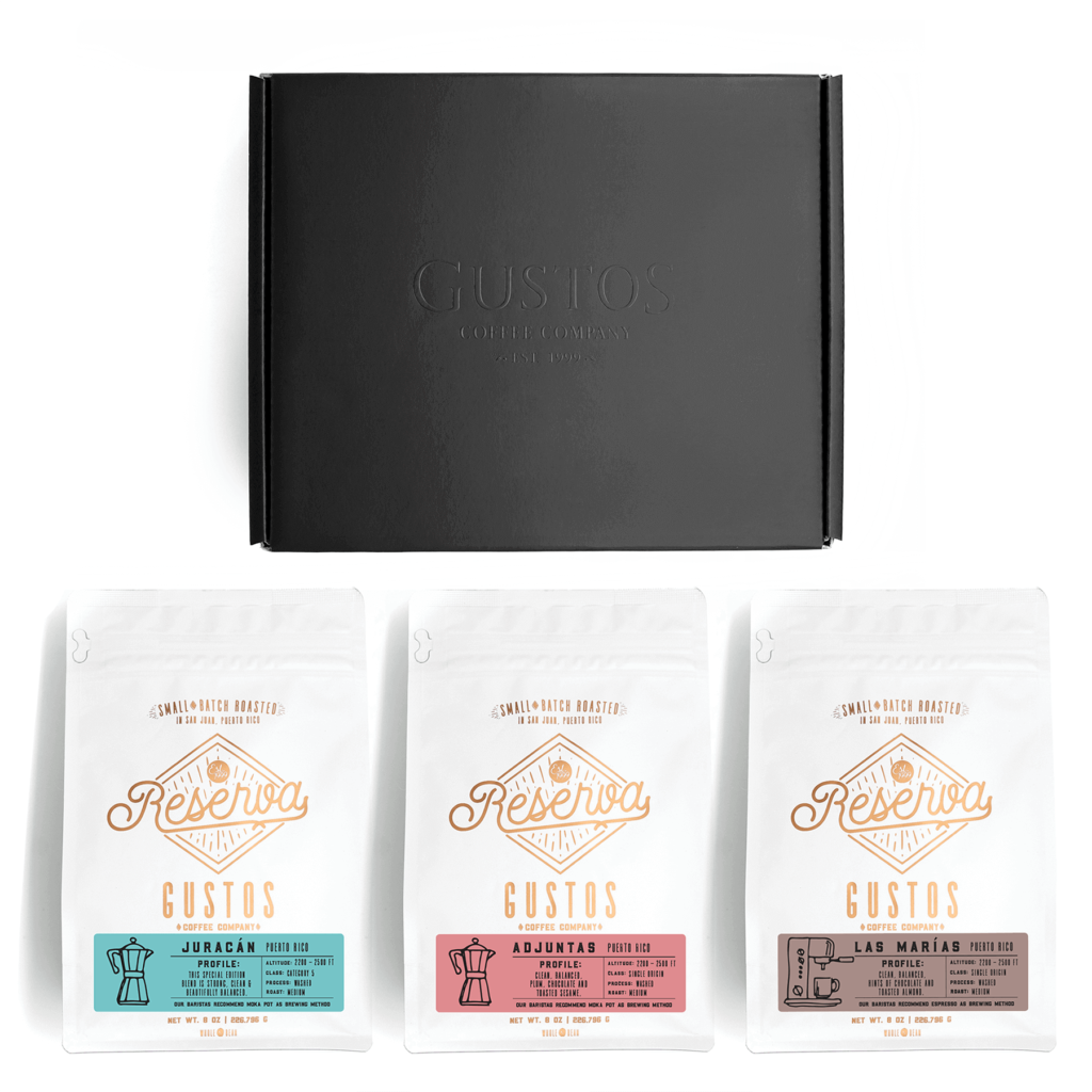 Juracán Adjuntas Las Marías Puerto Rico Single Origin Bundle Set