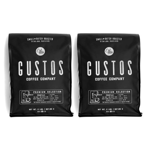 Gustos Premium Coffee From Yaucono Puerto Rico
