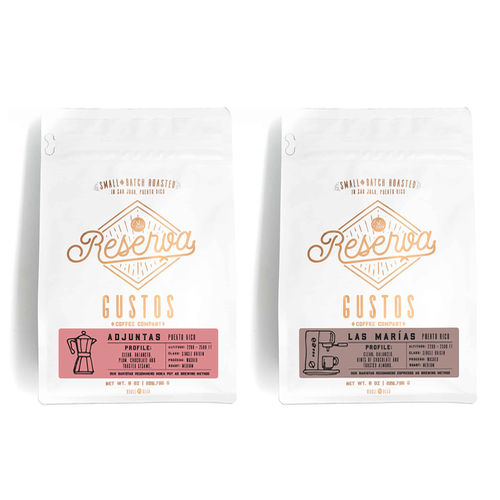 Gustos Coffee From Puerto Rico - Single Origin Adjuntas and Las Marías PR