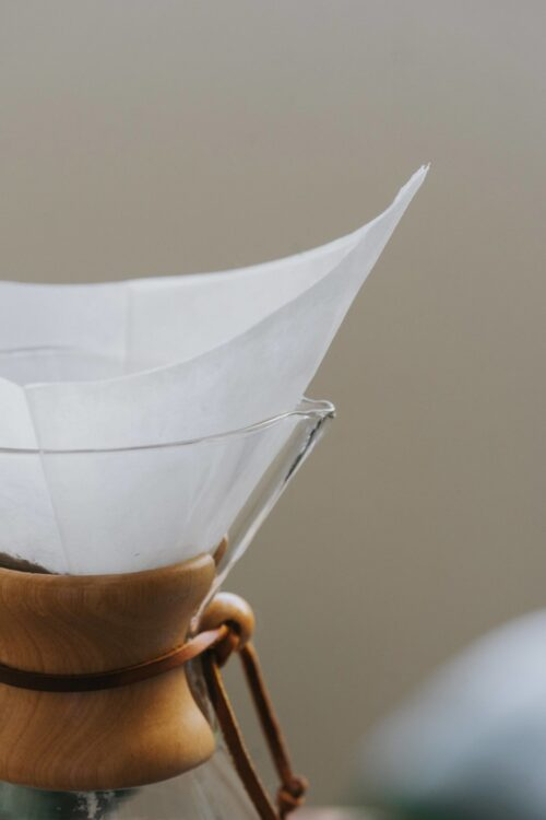 How To Make Chemex Coffee Filter Placement Position