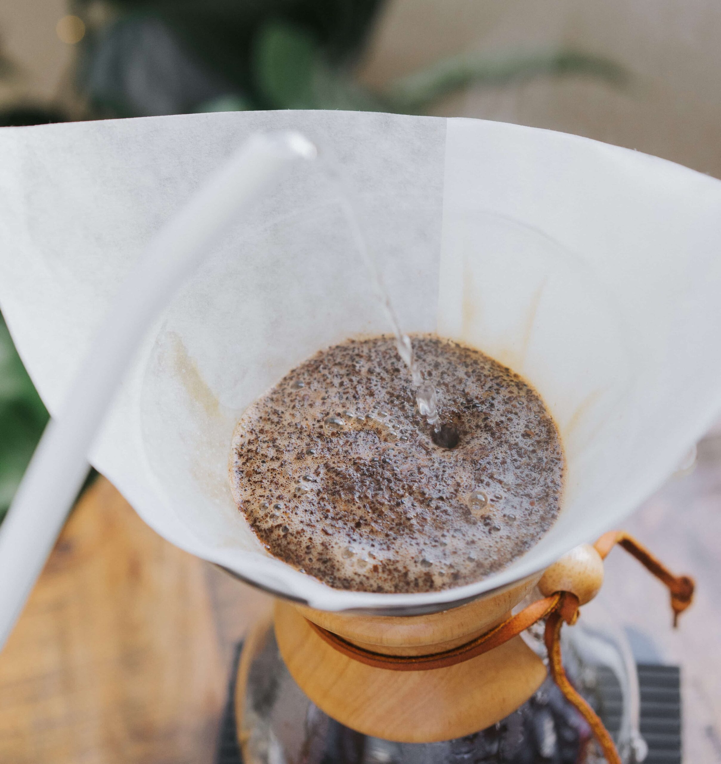How To Make Chemex Coffee - Second Pour -