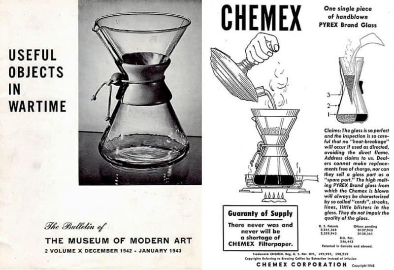 Chemex Coffee Maker Museum Of Modern Art - MOMA NY