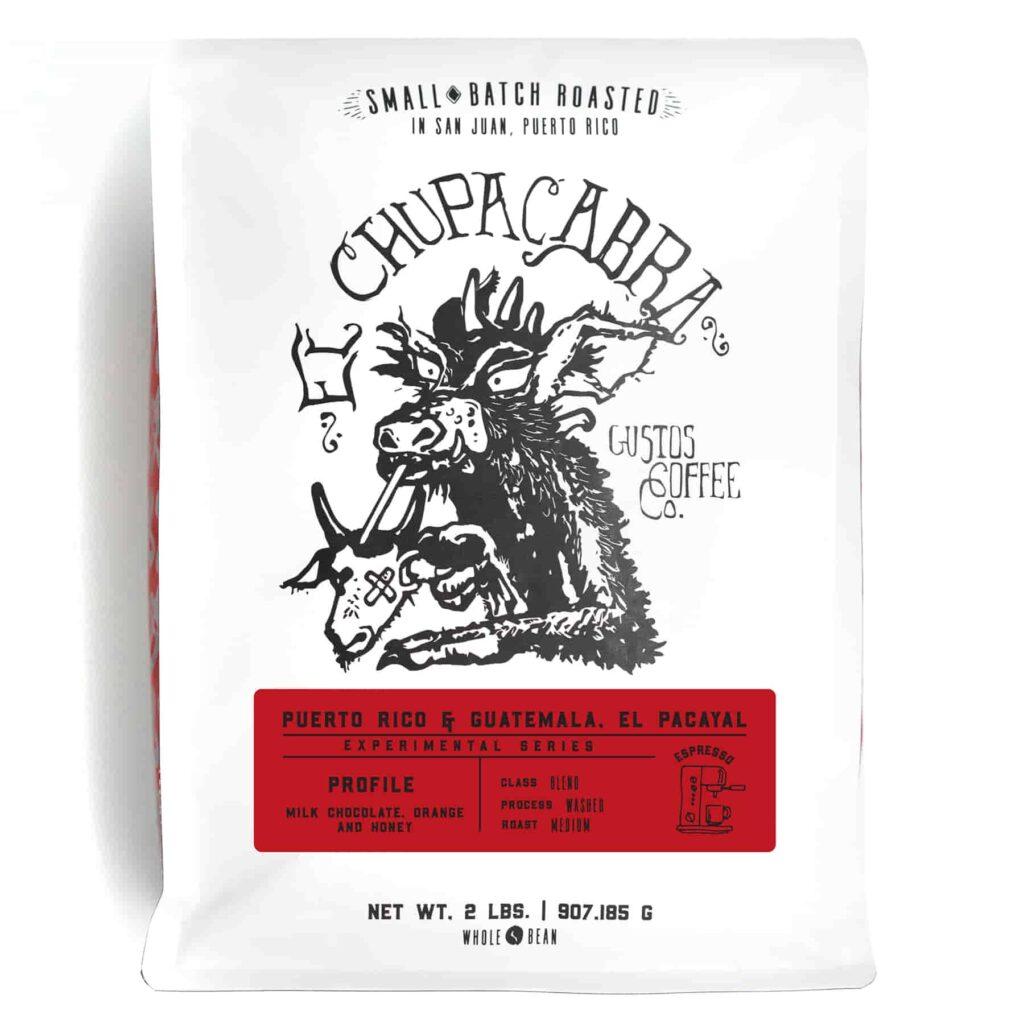 Specialty Coffee Blend El Chupacabra Puerto Rico & Guatemala El Pacayal - 2lbs