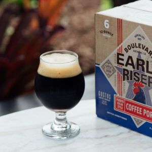 Gustos Coffee Co. x Boulevard Brewing Co. Puerto Rican Style Coffee Porter Craft Beer